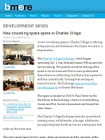 BMORE article - New coworking space opens in Charles Village